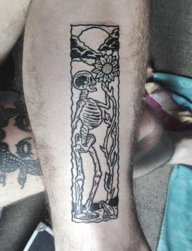 skeleton matt